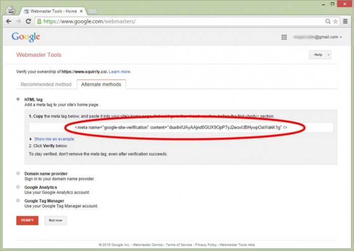how to set the google webmaster tool squirrly knowledge base